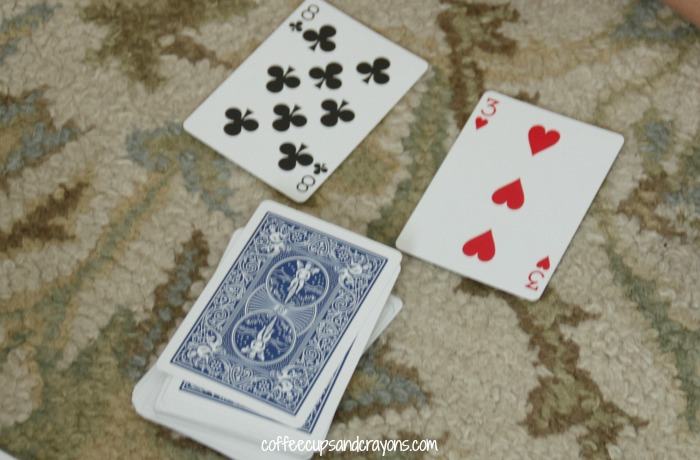 Simple Math Card Games for Kids!