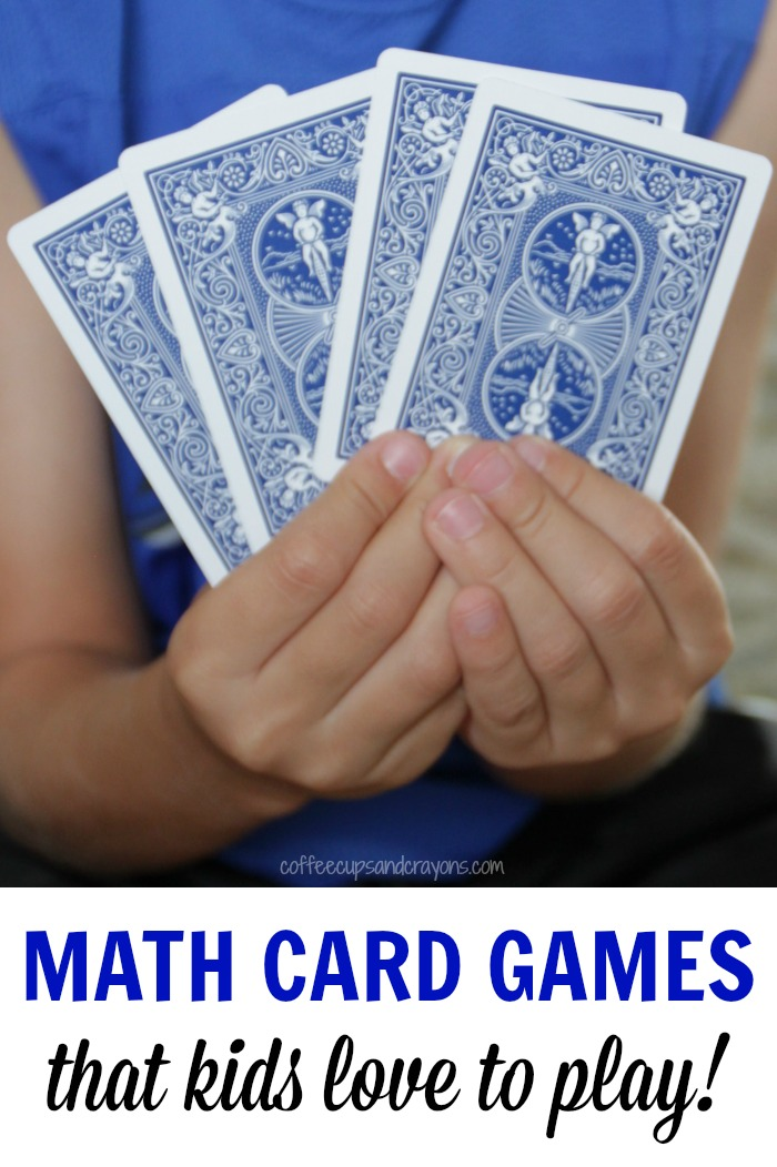 math worksheet : simple math card games for kids  coffee cups and crayons : Math Games For Kids Kindergarten
