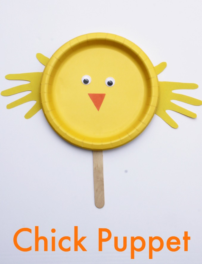 Easy Chick Paper Plate Craft for Kids! Perfect for Spring and Easter!