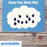 Free Printable Math Busy Bag for Kids