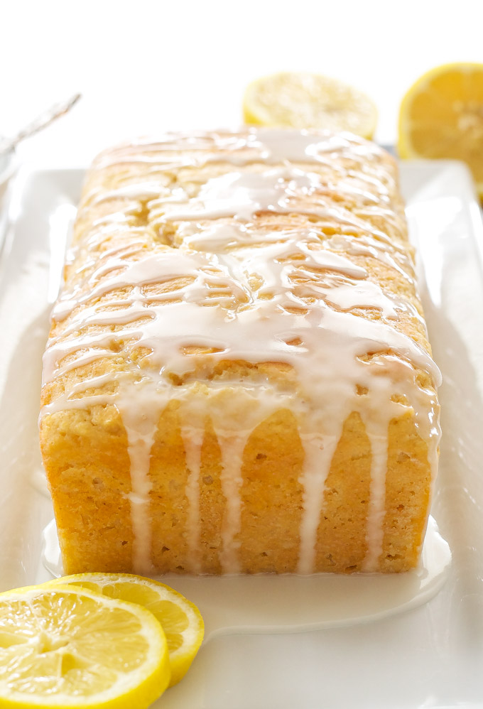 Greek Yogurt Cream Cheese Lemon Coffee Cake Recipe