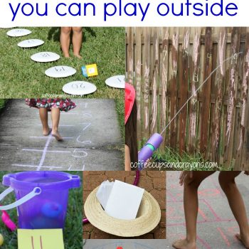 Outdoor Math Games for Kids