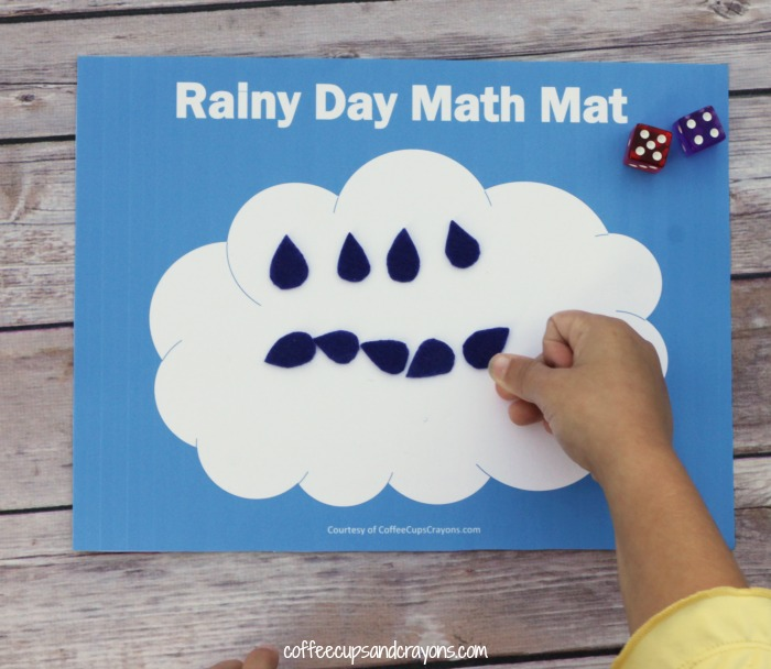 Practice Counting and Addition with this Printable Math Busy Bag!