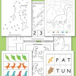 Printable Dinosaur Pack for Preschool
