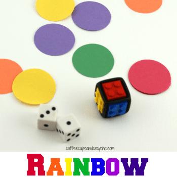 Rainbow Math Hunt