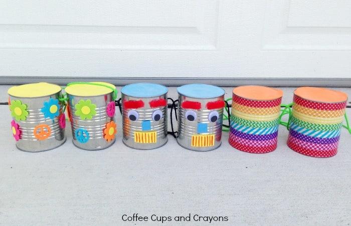Make Tin Can Stilts for Kids
