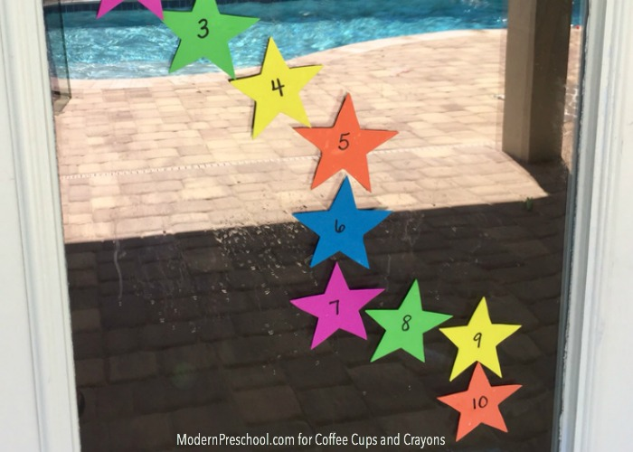 Star Theme Window Stickers Kids Can Use Again and Again!
