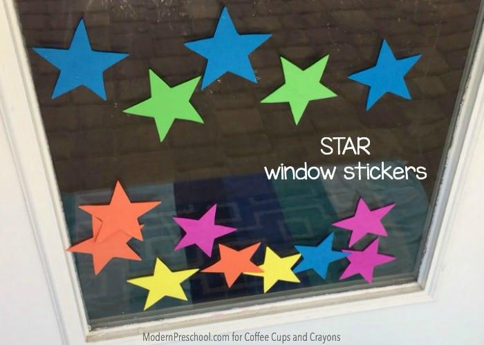 Star Theme Window Stickers5
