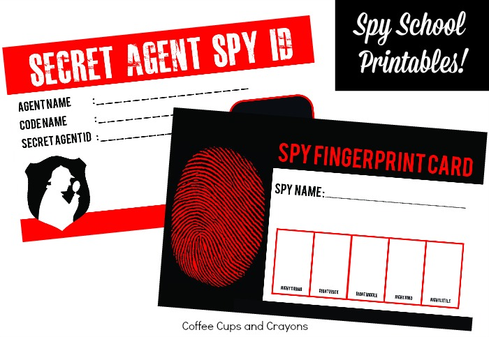 Tons of fun spy activities and free printables for kids! Perfect for planning a spy themed DIY summer camp or party!