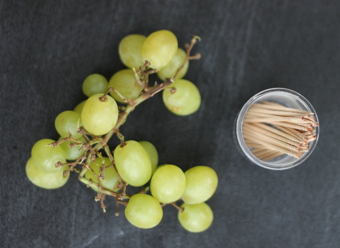 Build shapes with grapes!
