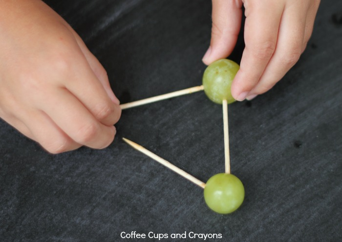 STEM for Kids! Make grape shapes and structures!