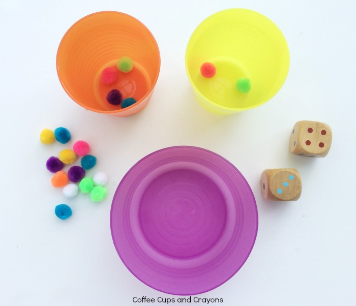 Simple and fun math addition game for kids! Lots of hands on learning!