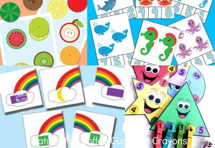 20 printable busy bags for kids!