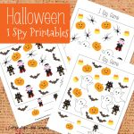Halloween I Spy Printables