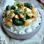 One Skillet Orange Chicken and Broccoli