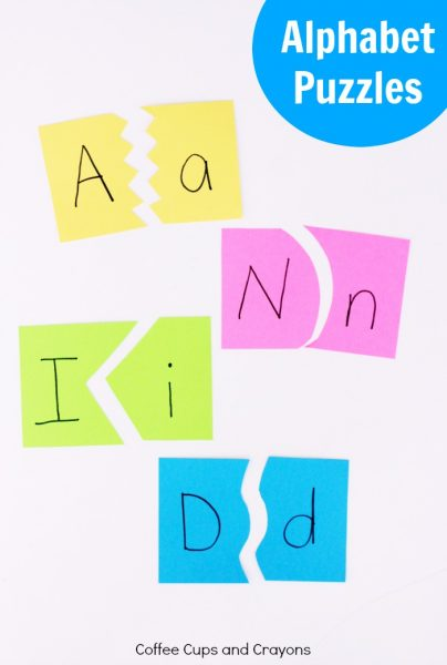 Super Simple Alphabet Puzzles Kids Love to Play With
