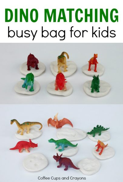 Dinosaur Matching Busy Bag