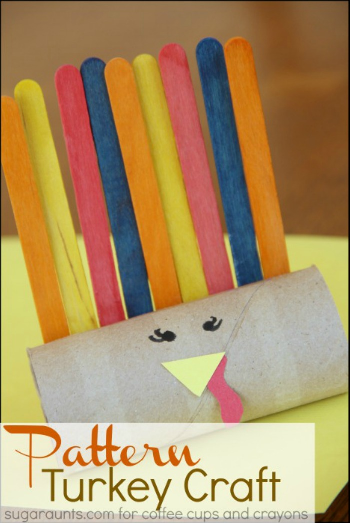 Turkey Craft Pattern for Kids