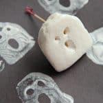 Halloween Marshmallow Ghost Craft