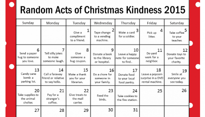 Random acts of christmas kindness archives coffee cups and crayons