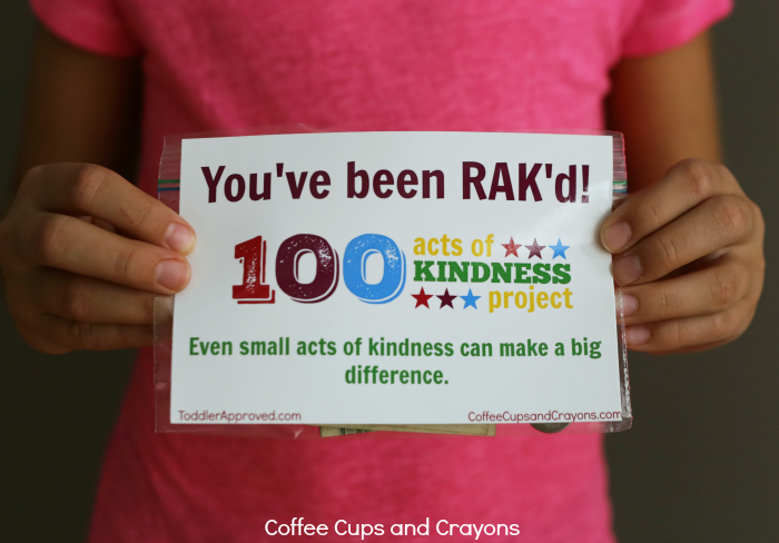 Leave a surprise act of kindness for a stranger to find! Such fun to kids to do good for others!