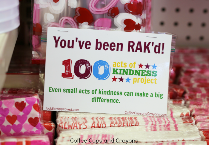 Leave a surprise for a stranger to find! A simple act of kindness that can make someone's day!