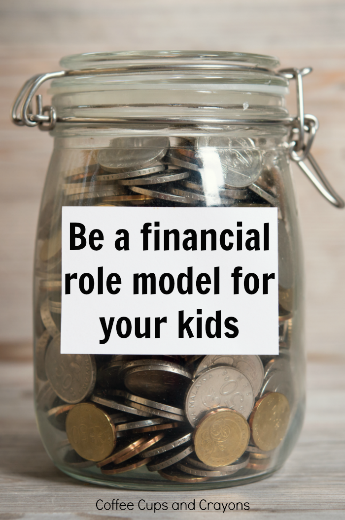 Why its so important to be a financial role model for your kids and tips to get you started!