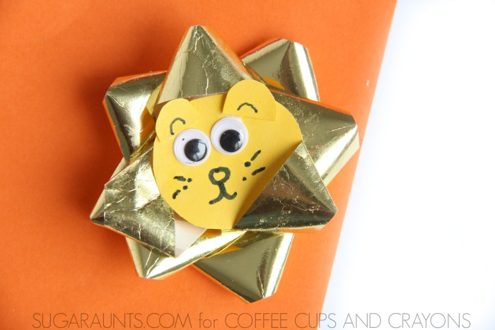 This March, make an In Like a Lion craft to celebrate Spring with kids!