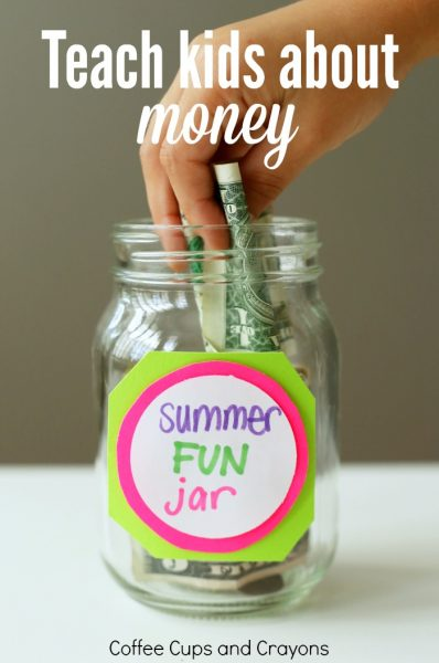Teach Kids About Money with a Summer Fun Jar