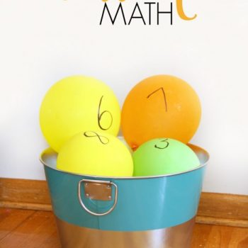 Balloon Math Activities