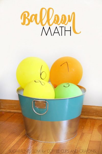 Balloon Math Activities