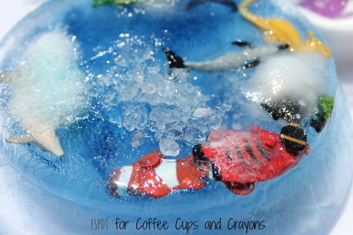 Ice And Salt Science Experiment Coffee Cups And Crayons