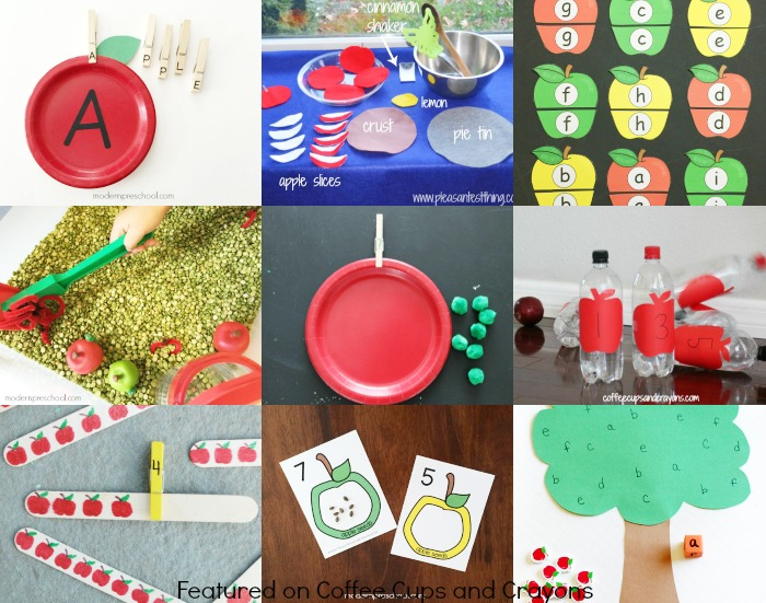 Fun apple activities for fall!