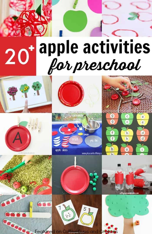 Super Fun Apple Activities for Preschoolers | Coffee Cups ...