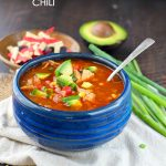 Slow Cooker Chicken Enchilada Chili