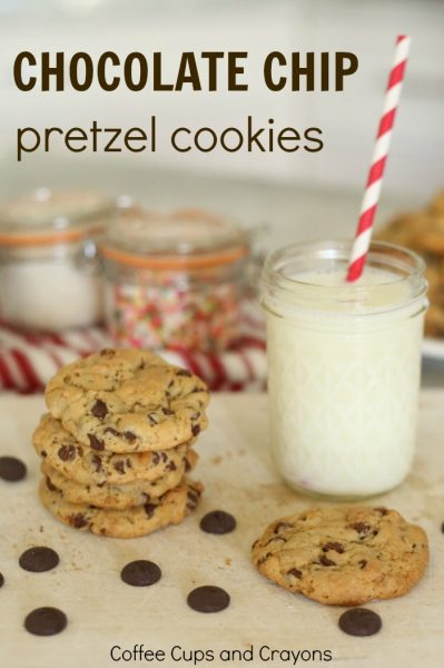 Chocolate Chip Pretzel Cookie Recipe