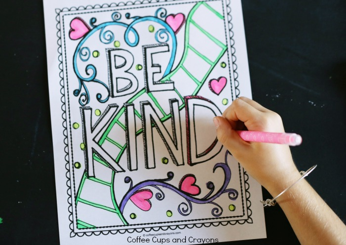 Kindness Printable for Kids