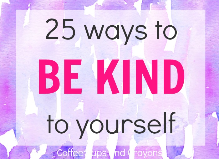 Be Kind to Yourself Kindness Challenge