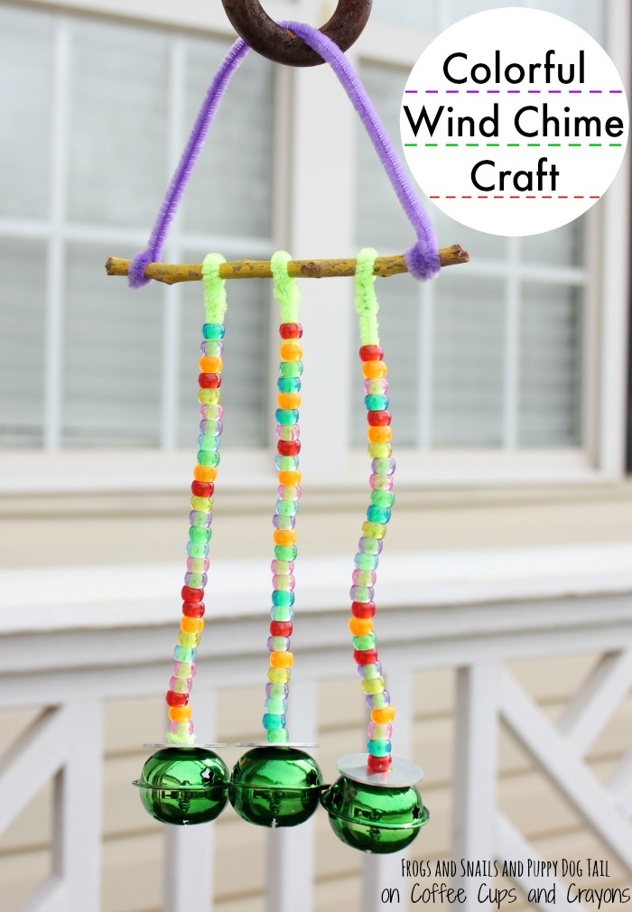 Wind Chime Craft For Toddlers