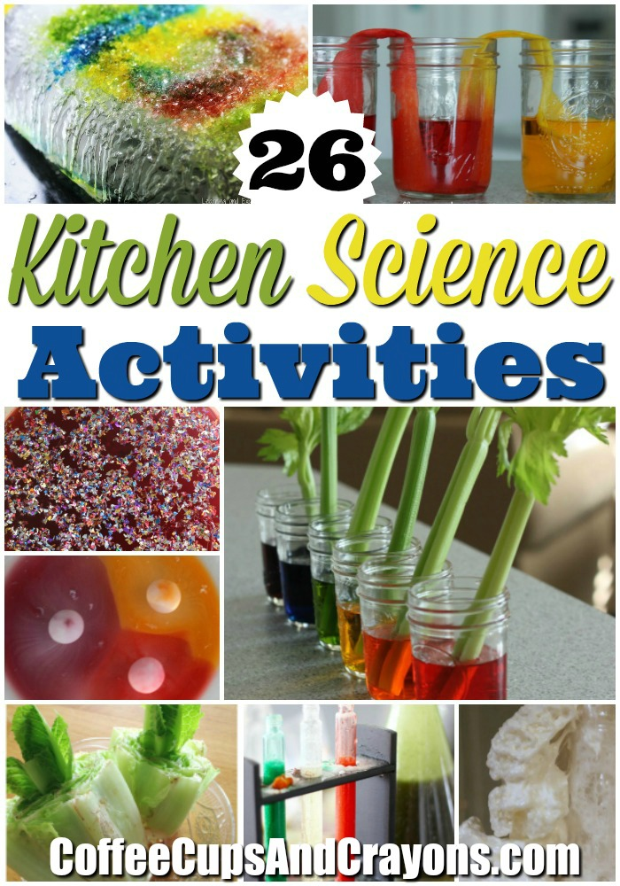 Coolest Kitchen Science Experiments for Kids!