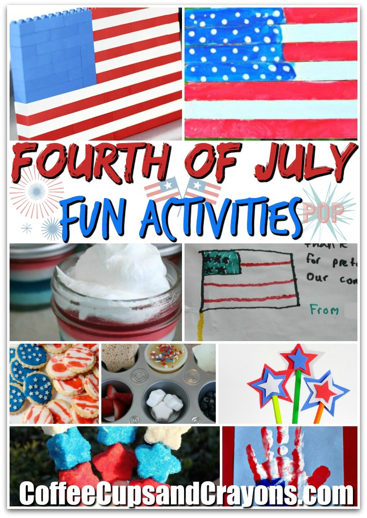 25 super FUN Fourth of July activities for kids!