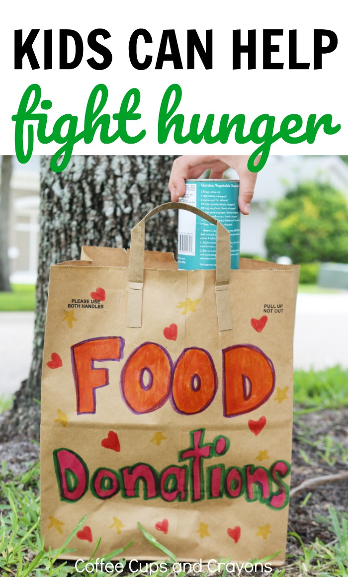 Teach Kids to Help Fight Hunger and Make a Difference in the Community!