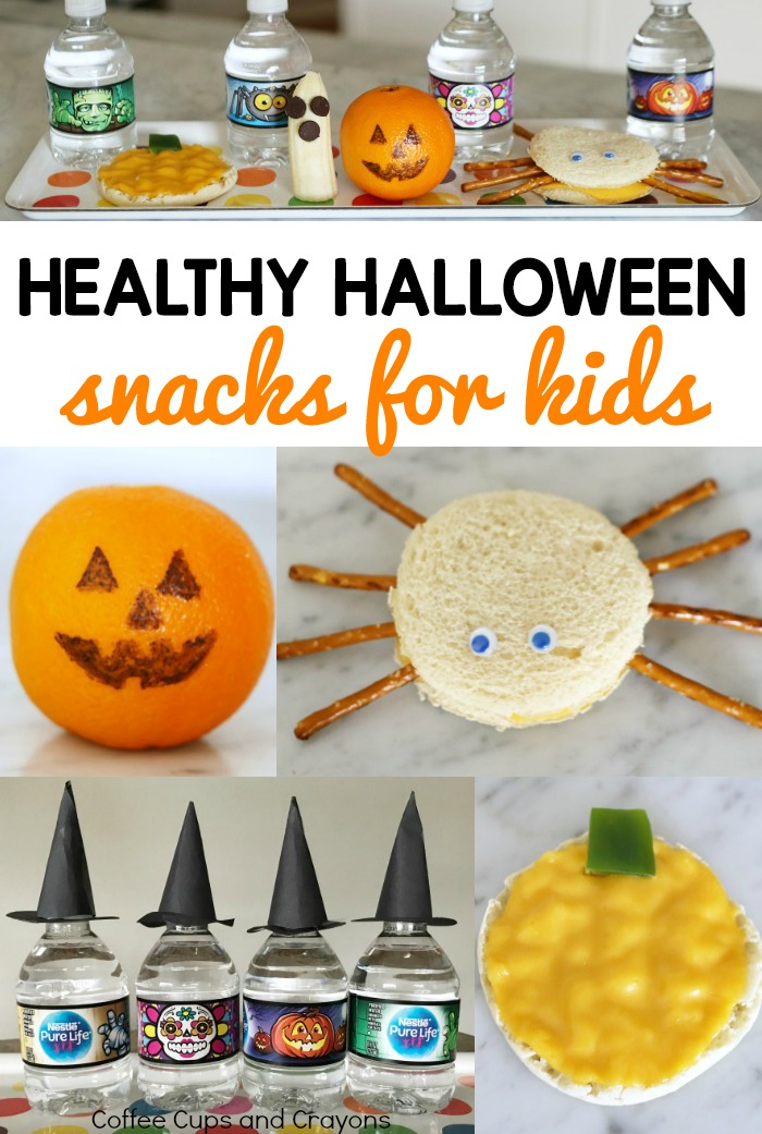Healthy halloween snacks for kids coffee cups and crayons for Halloween treats to make with kids